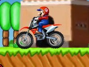 Thumbnail of Mario Bros Dirt Bike
