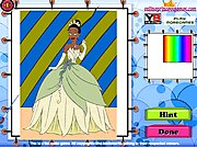 Thumbnail of Princess Tiana Coloring