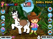 Dora Pony Dress Up Game thumbnail