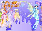 Thumbnail of Purply Fairy Dressup
