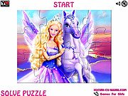 Thumbnail of Magic of Pegasus Barbie Jigsaw