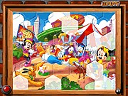 Thumbnail of Sort My Tiles Mickey Toon Town