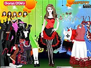 Thumbnail of Doris Punk Girl Dressup