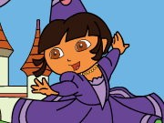 Dora The Explorer Sort My Tiles Dora The Queen thumbnail