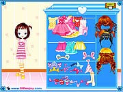 Thumbnail of Little Doll Girl Dressup
