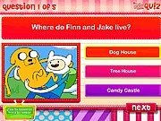 Thumbnail of Adventure Time Quiz