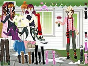 Girl Waiting Dressup thumbnail