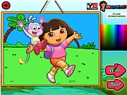 Thumbnail of Dora The Explorer Coloring