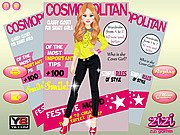 Thumbnail of Cover Girl Dressup