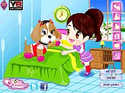Thumbnail of Color Girl and Cute Pet