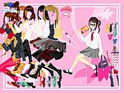 Thumbnail of School Book Dressup