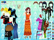 Asian Gal Dressup thumbnail