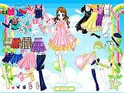 Thumbnail of Air Fairy Dress up