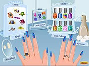 Thumbnail of Funky Nail Art