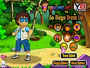 Thumbnail of Go Diego Dress up