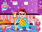 Thumbnail of Stylish Baby Dressup