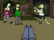 Thumbnail of Simpsons Zombie Shoot-Out