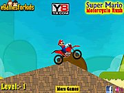 Thumbnail of Super Mario Motorcycle Rush