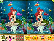 Ariel Mermaid Spot The Difference thumbnail