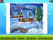 Winter House Puzzle Jigsaw thumbnail