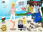 Thumbnail of Celeste Beach Dressup