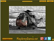 Thumbnail of Military Helicopter Jigsaw