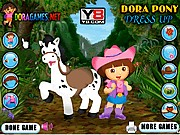 Thumbnail of Dora Pony Dressup