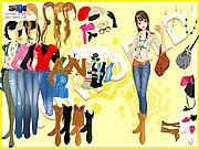 Thumbnail of Cowboy Boots Dressup