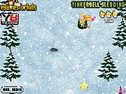 Tinkerbell Sledding Game thumbnail