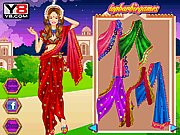Thumbnail of Barbie Indian Saree