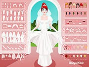 Thumbnail of White Bridal Dressup