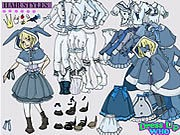 Thumbnail of Alice in Wonderland Dress Up