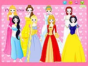 Disney Princess Dress up thumbnail