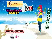 Winter Barbie Dress Up thumbnail