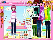 Thumbnail of Happy Pink Dressup