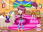 Thumbnail of Colorful Girls Dinner Party