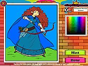 Princess Merida Coloring thumbnail