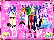 Thumbnail of Blue Hair Star Dressup