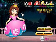 Thumbnail of Sofia The First Dress Up