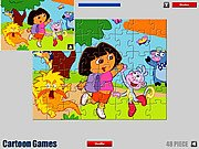 Dora Cartoon Jigsaw thumbnail
