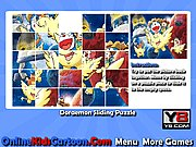 Thumbnail of Doraemon Sliding Puzzle