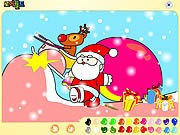 Thumbnail of Santa Claus Painting