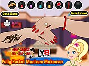 Polly Pocket Manicure Makeover thumbnail