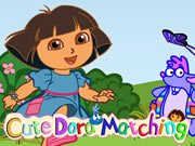 Thumbnail of Cute Dora Matching