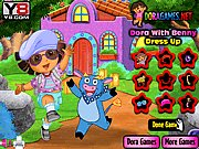 Thumbnail of Dora with Benny Dress Up