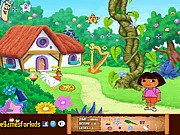 Thumbnail of Dora Hidden Objects Game