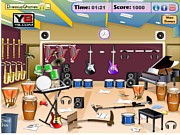 Thumbnail of Messy Music Room