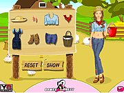 Farm Girl Dress Up thumbnail