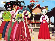 Thumbnail of Asian Dress Up