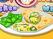 Crunchy Hawaiian Chicken Wrap thumbnail